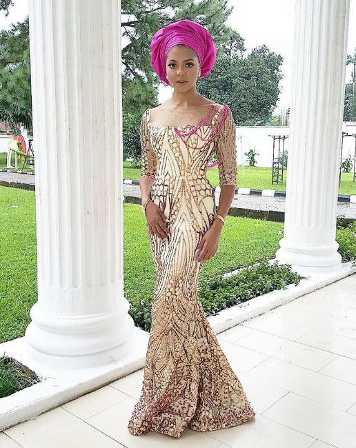 Billionaire daughter Adama Indimi is alluring in new photos