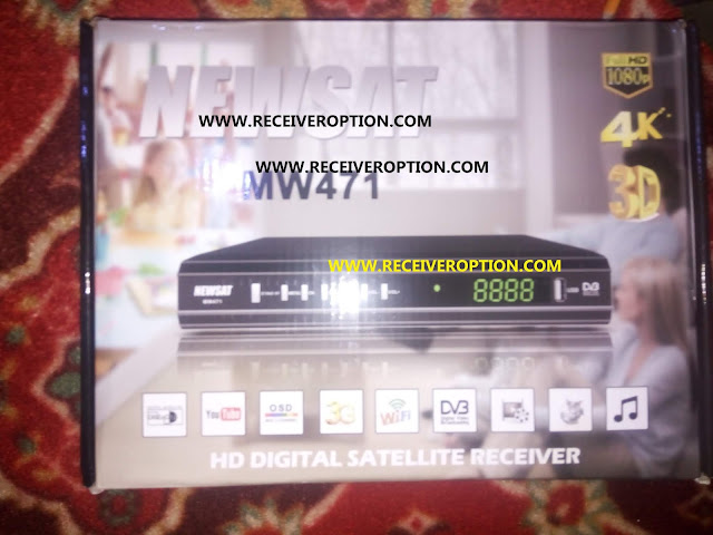 NEWSAT MW471 HD RECEIVER AUTO ROLL POWERVU KEY NEW SOFTWARE