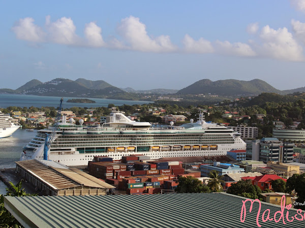 Madison Caribbean Adventures - St. Lucia {Almost Wordless Wednesday}