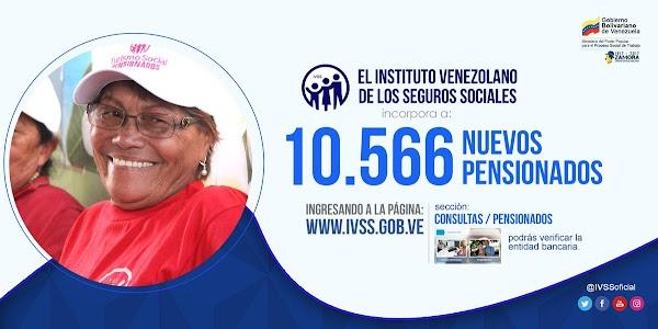 Este 19-O @ivssoficial anuncia incorporación de 10.566 nuevos pensionados