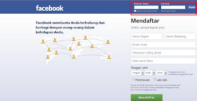Cara Masuk ke Akun Facebook