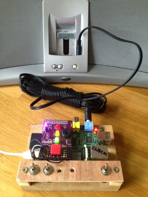 Eric Clack\'s blog: Building an MP3 player with the Raspberry Pi