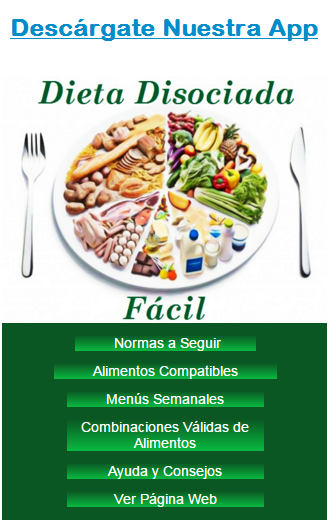 Queso fresco dieta disociada