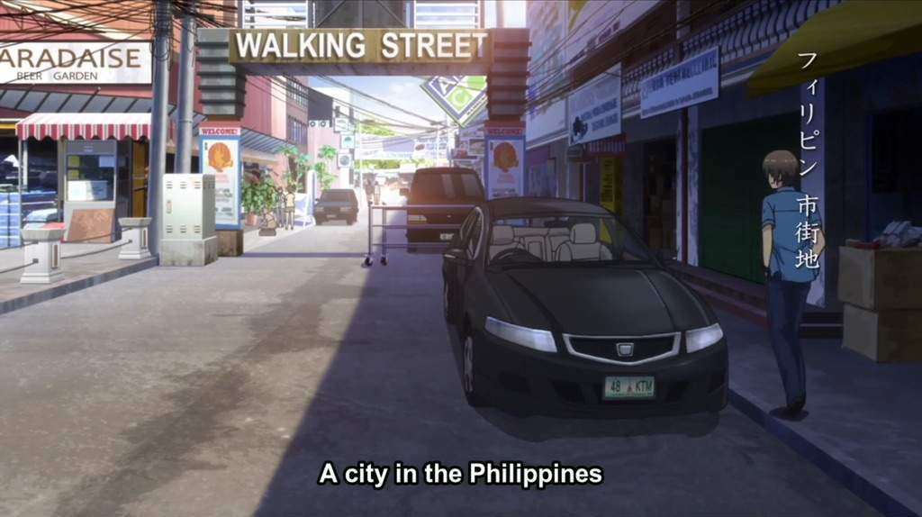 anime take place in philippines