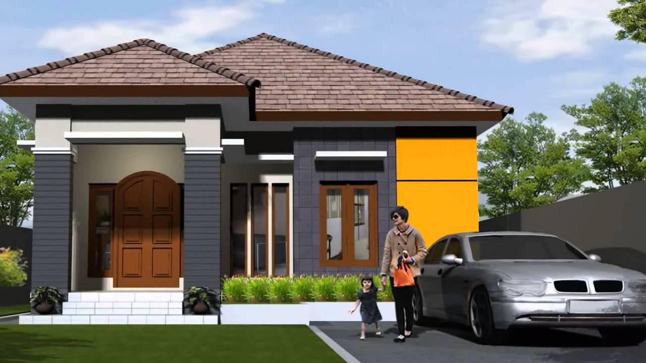 Desain Rumah Minimalis Satu Lantai Tanpa Pagar