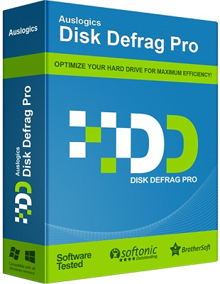 Auslogics Disk Defrag Professional 4.8.1 poster box cover