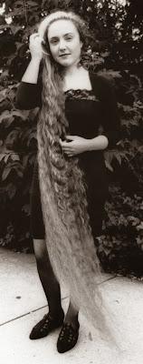 Girl with the longest hair Long Hair Contest winner