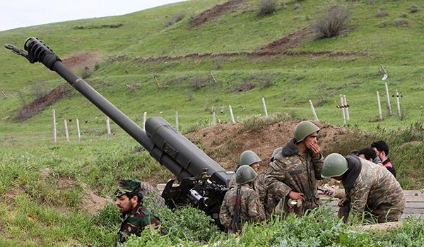 Artsaj declaró alrededor de 250 bombardeos por parte de Azerbaiyán