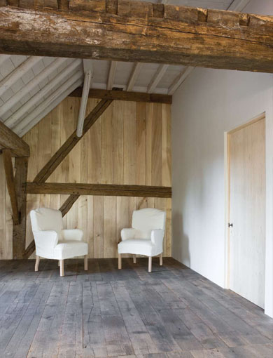 #10 - Restored farmhouse by Architect Bernard de Clerck, image via Corvelyn as seen on linenandlavender.net, http://www.linenandlavender.net/2013/02/bernard-de-clerck-architect-be.html