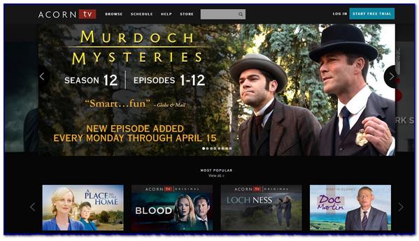 Mike Greer's WORTH SHARING: Acorn TV: Netflix for Grownups!