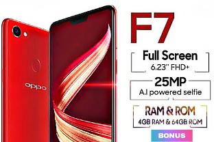 Spesifikasi Dan Harga Hp Oppo F7 Lengkap Terbaru