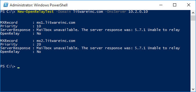Technical Deep Dive: Check for open relay using PowerShell