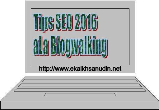 TIPS SEO 2016 aLa BLOGWALKING