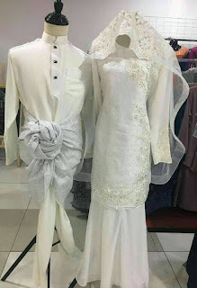 baju songket pengantin malaysia