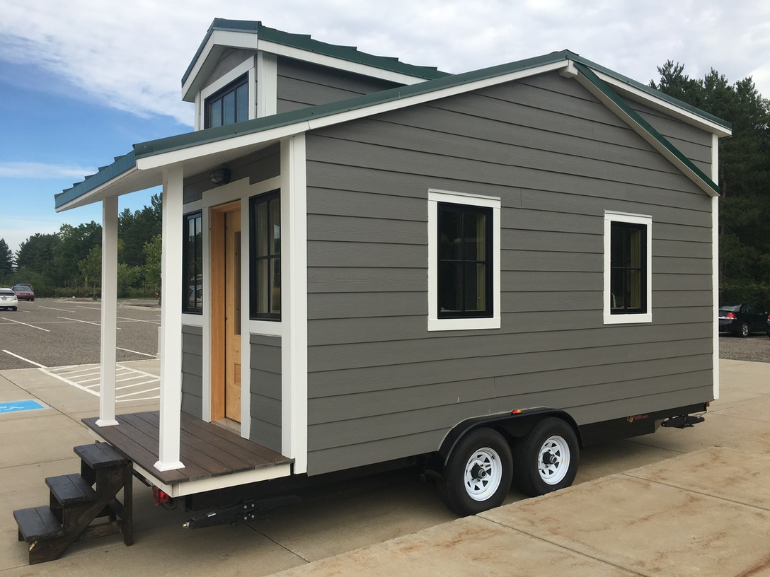 Tiny House Town Michigan State University S Sparty Cabin