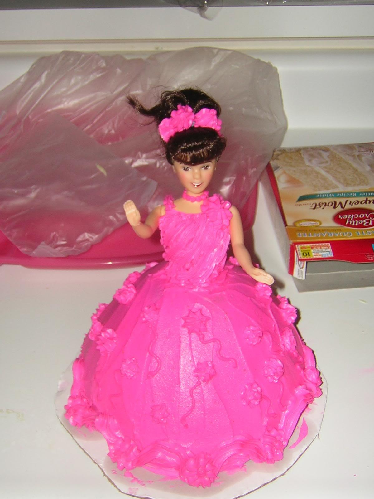 Birthday Cake Pink Barbie Birthday Cakes