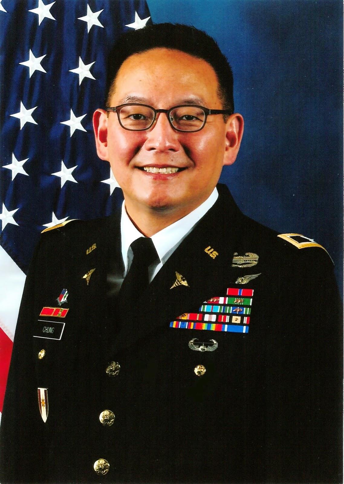 Chung's military headshot