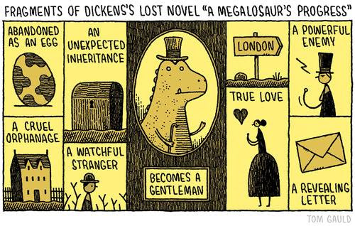 Meme de humor sobre Dickens