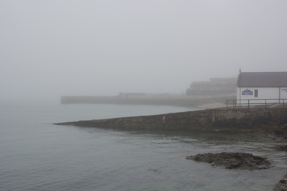North Wales Snowdonia Photo Diary holyhead harbour marina mist