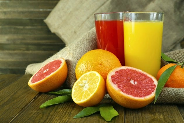 Benefits of Grapefruit Juice to Burn Fat