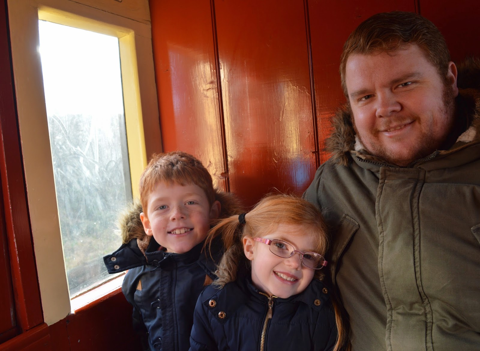 The Original North Pole Express | Tanfield Railway - A North East 'Santa Train' review  - train carriage