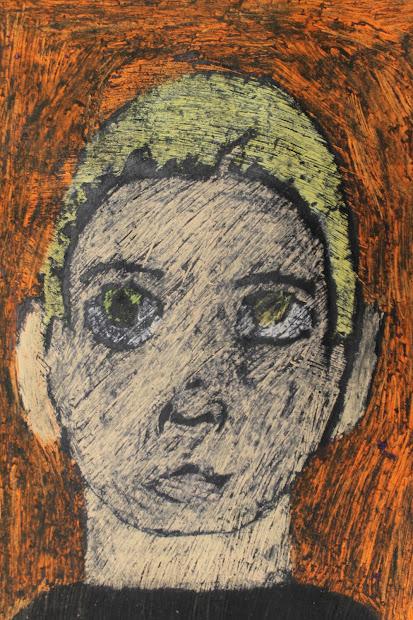 """Elemental Art Room 6th Grade -portraits """"bob"""