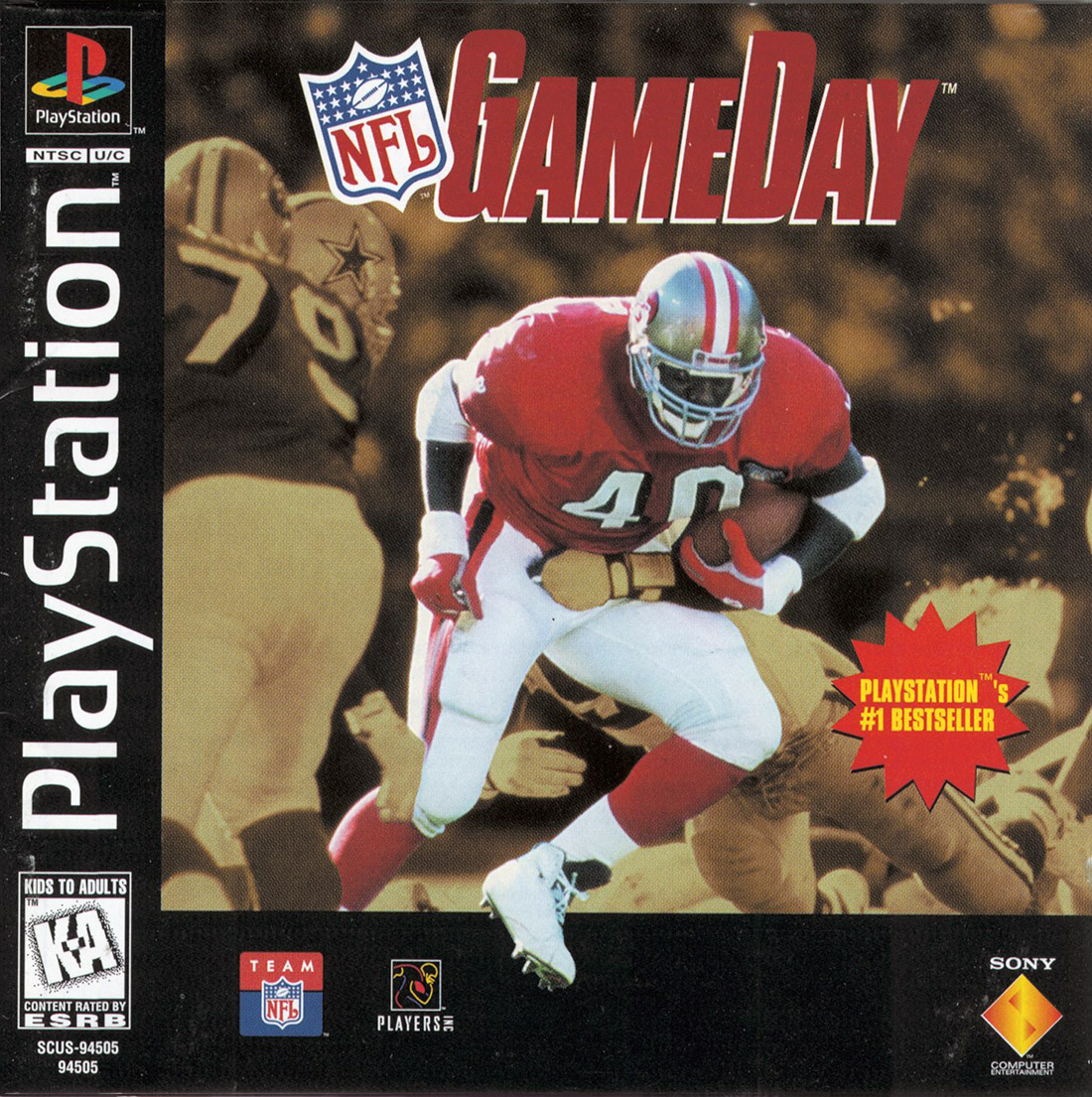 NFL GameDay - PS1 - ISOs Download