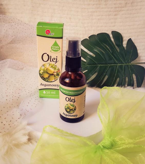 Organiczny bezzapachowy olej arganowy