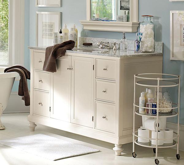 Small Bathroom Storage Tables: Informasi Dikongsi Bersama: Tips To Organizing