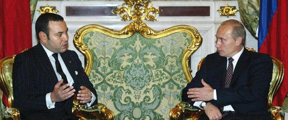 Mohammed VI présente ses condoléances à Poutine après le crash de l'avion Russe