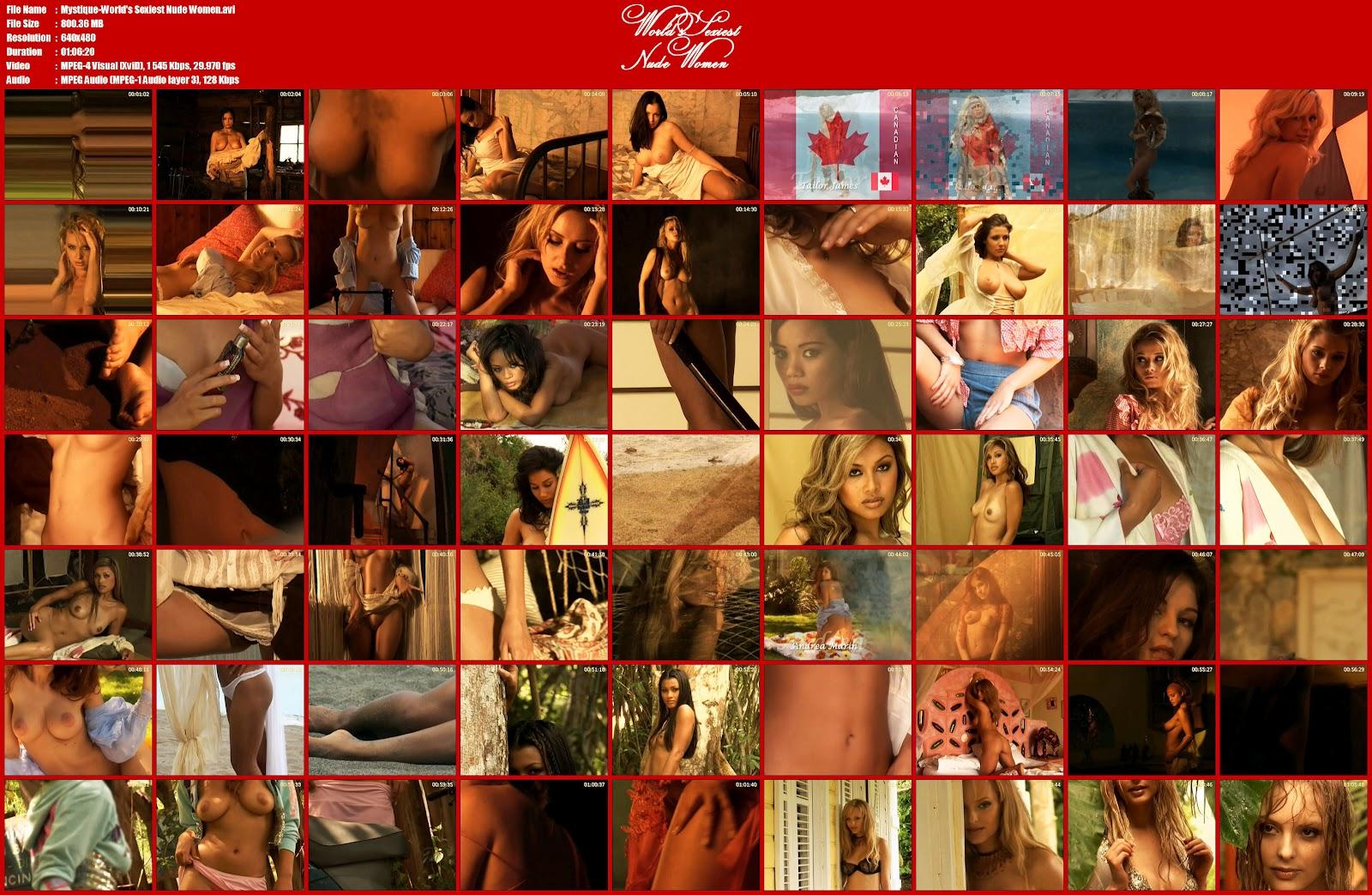 World S Sexiest Nude Women Movie 3