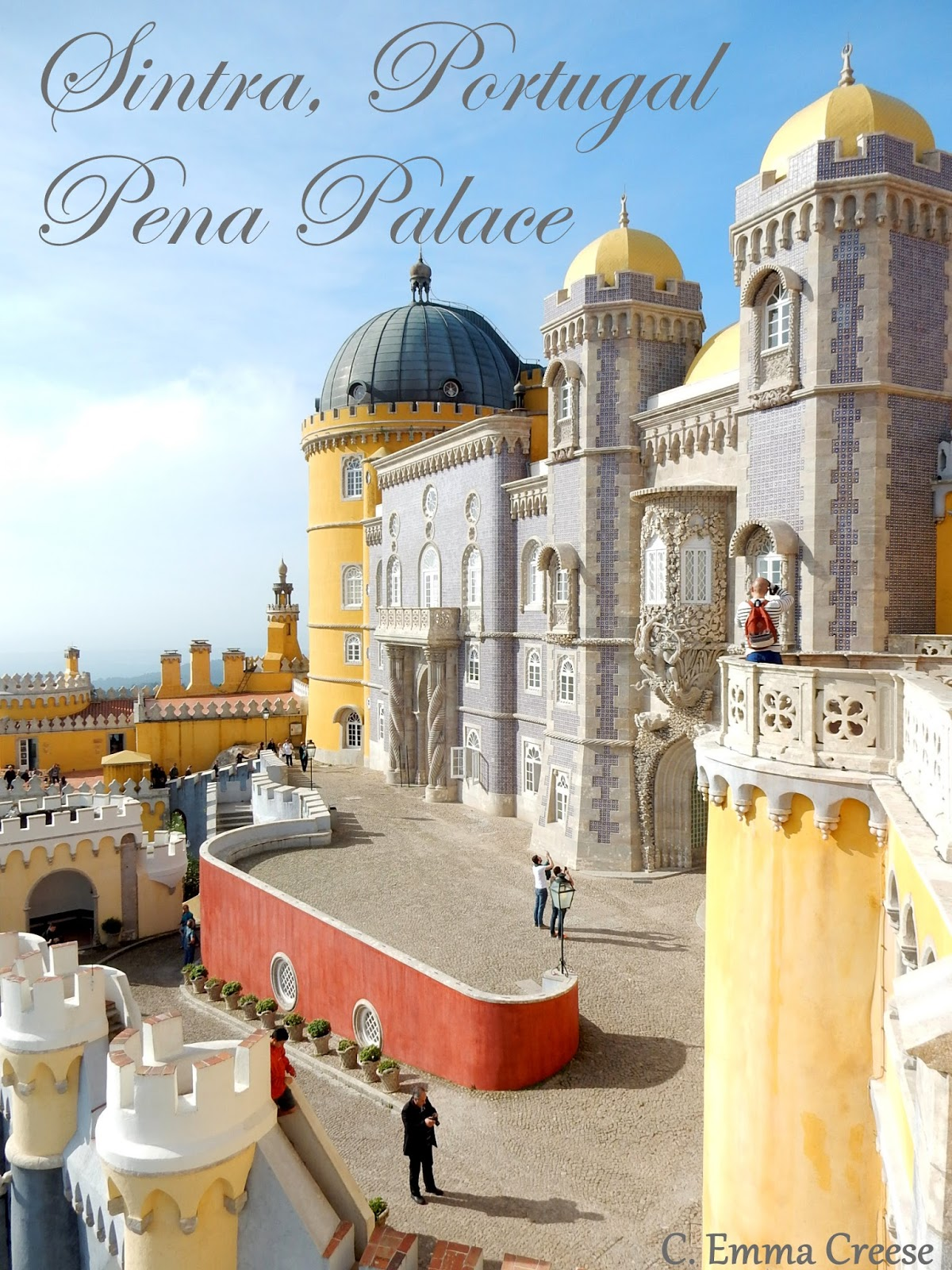 Pena Palace, Sintra, Portugal – one of the world's most insane castles