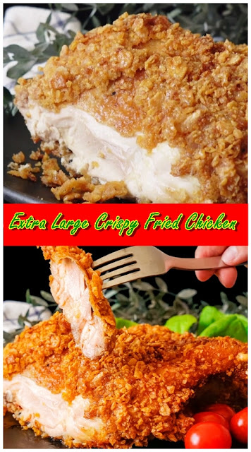 Extra Large Crispy Fried Chicken
