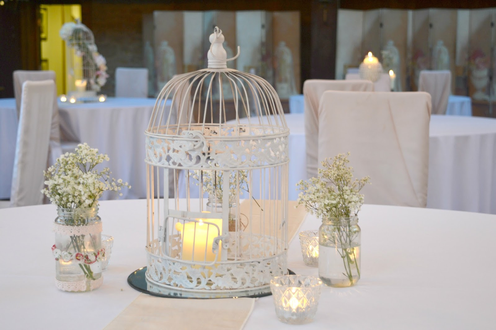 Weddings at the South Causey Inn, County Durham - Durham Suite -  Table Decorations