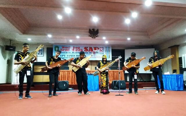 workshop musik sape