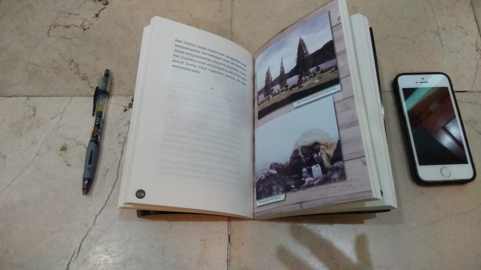 Arah Langkah Fiersa Besari Nur Muhammad Luthfi Salah Satu Foto Yang Ada Di Buku Ini