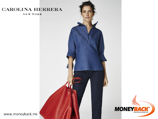 VISIT CAROLINA HERRERA IN MEXICO AND TAKE ADVANTAGE OF OUR MONEYBACK TAX REFUND SERVICE