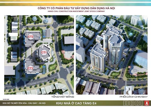 tổng thể dự án park view city yên hòa