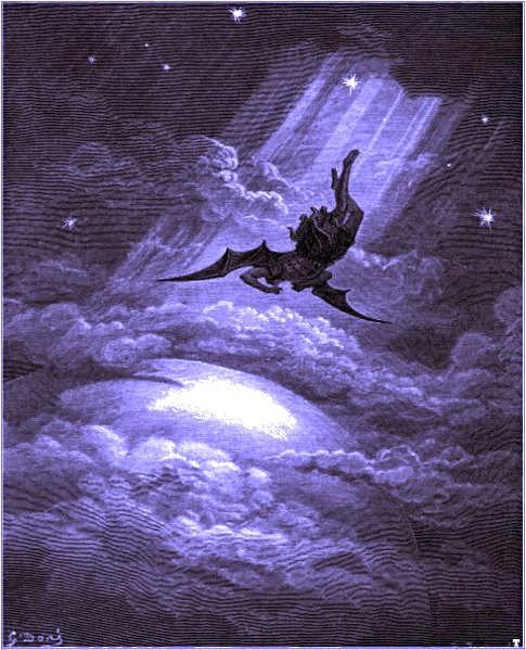 Satan chassé du Ciel (Gustave Doré)