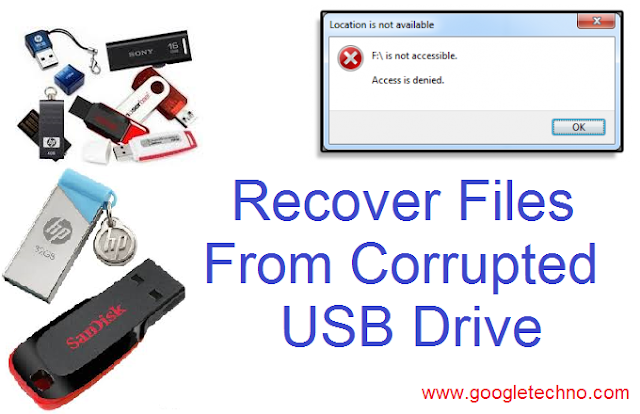How To Recover Files From Corrupted USB Drive