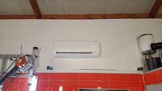 Montaż klimatyzacji w garażu