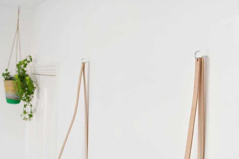 diy easy hanging shelf