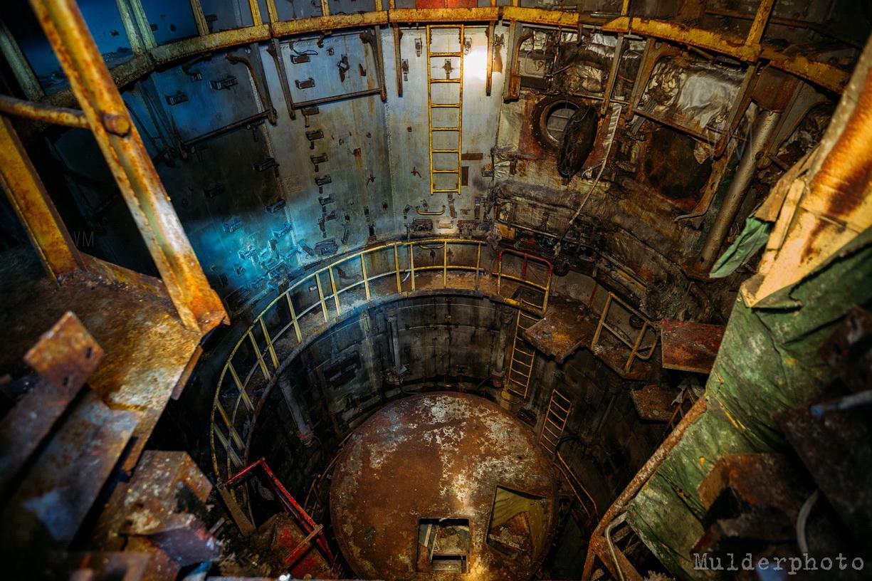 Остатки машины Cудного дня в подземном ядерном бункере
