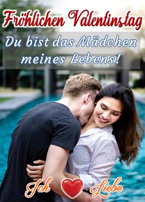 Valentinstag Kuss Fröhlichen Valentinstag liebe