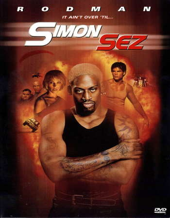 Poster Of Simon Sez 1999 Dual Audio 720p Web-DL [Hindi - English] Free Download Watch Online downloadhub.in