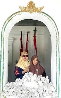 Salah satu ruang di Keraton Kasepuhan Cirebon
