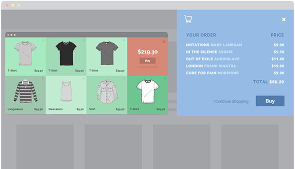 Free HTML5 CSS3 Checkout Forms Templates 2017