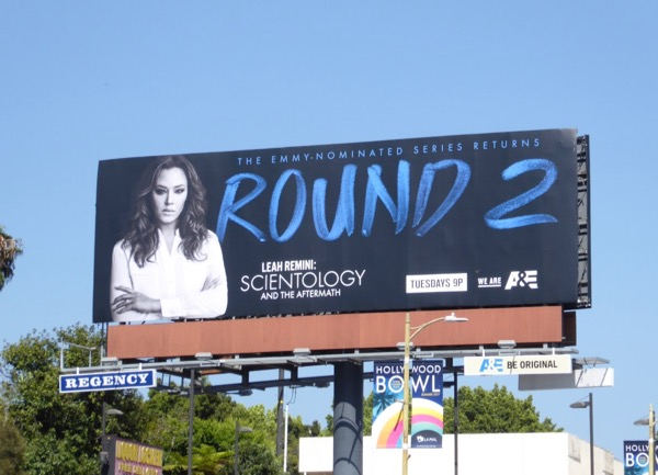 Leah Remini Scientology Aftermath season 2 billboard