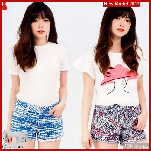 JDB096 FASHION Shortpants Lei Perempuan BMGShop