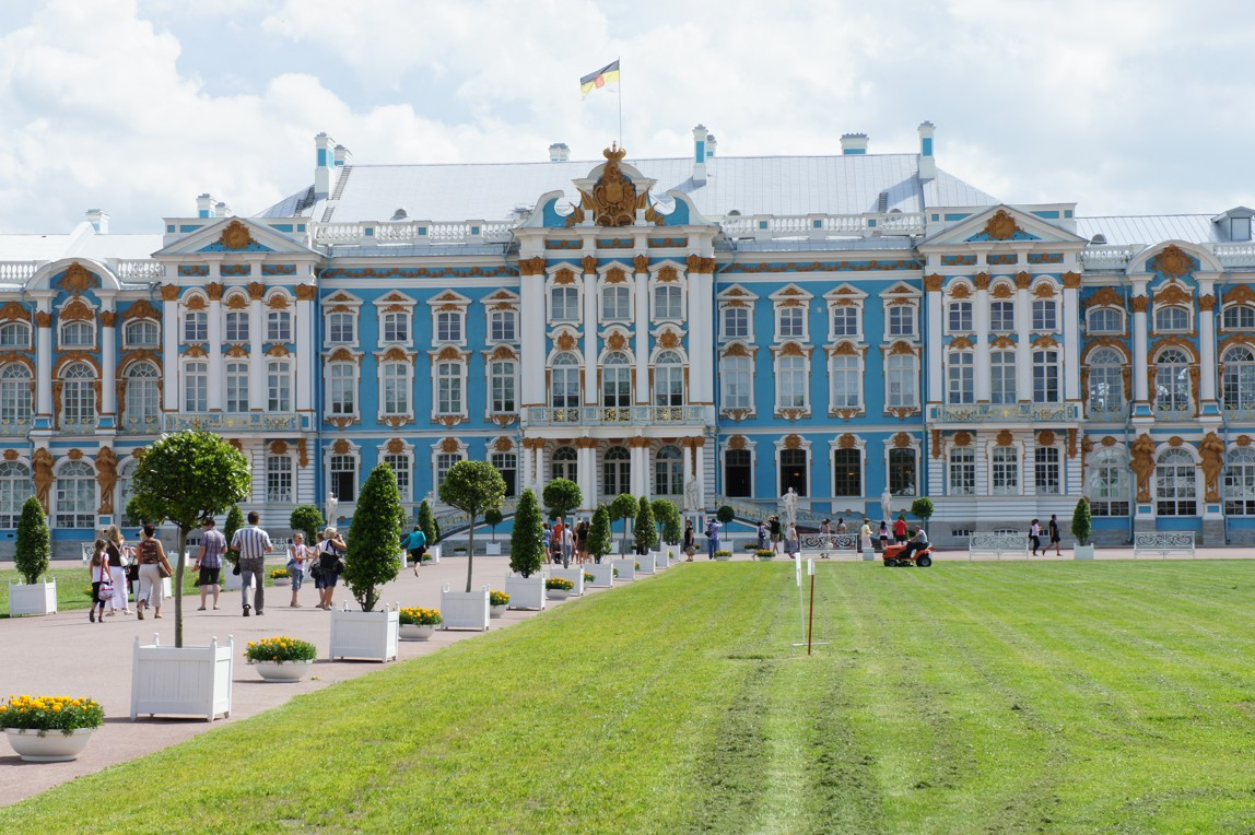 Eb's trip: Tsarskoe Selo, Catherine's Palace and Alexander ...
